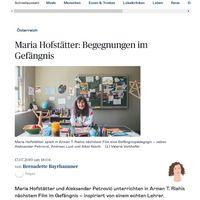 Maria Hofstaetter  Begegnungen im Gefaengnis   DiePresse com Seite 1